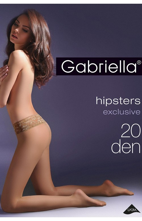 Rajstopy Gabriella Hipsters Exclusive 630 3D 20 den