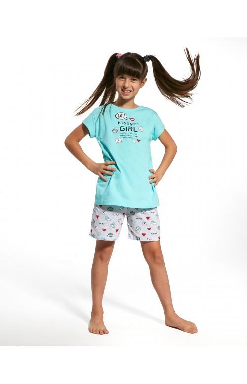 Piżama Cornette Kids Girl 787/56 Blogger kr/r 86-128