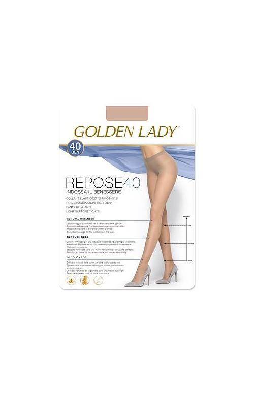 Rajstopy Golden Lady Repose  6-2XL 40 den
