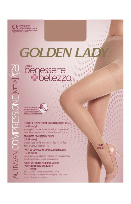 Rajstopy Golden Lady Benessere & Bellezza 70 den