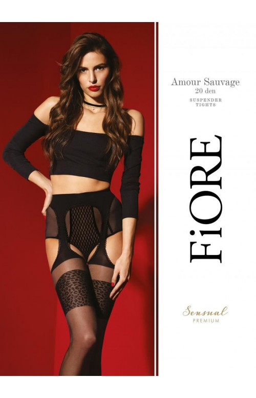 Rajstopy Fiore O 5029 Amour Sauvage 20 den
